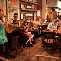Virginia Dubois at La Patagonia Tango evening Sept 2013